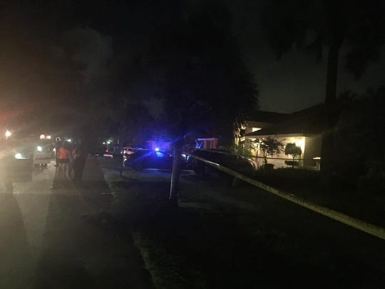Two people were killed in Tequesta, Fla., on Monday, Aug. 15, 2016. A suspect is in custody. A man was found in the driveway and a woman was found in the garage of the home.