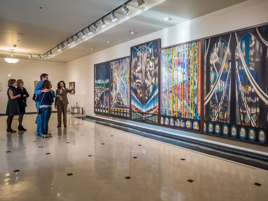 Joseph Stella's The Voice of the City of New York Interpreted,