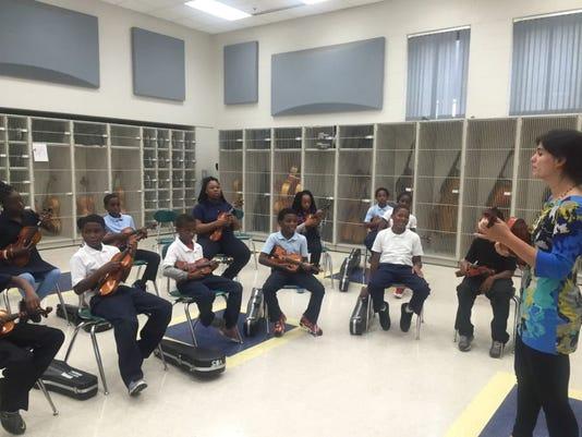 Detroit Public Schools Community District fine arts
