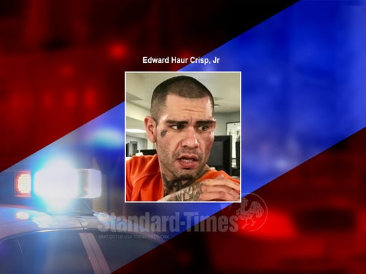 Mug shot Edward Crisp
