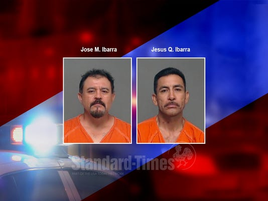 Mugshots for Jose M. Ibarra and Jesus Q. Ibarra