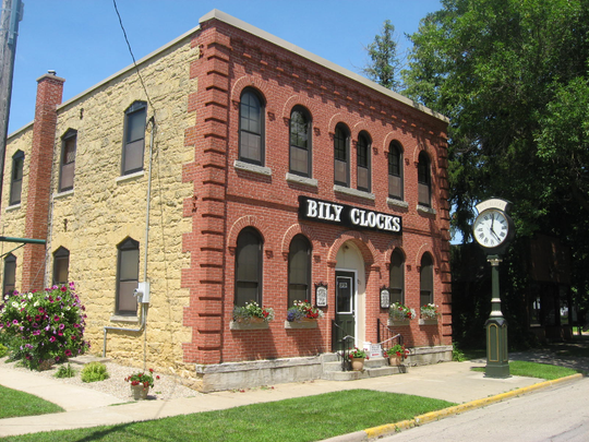 A Bily Clock and Antonin Dvorak museum in Spillville, Iowa. Dvorak, a famed Czech composer, spent summer 1893 in Spillville.