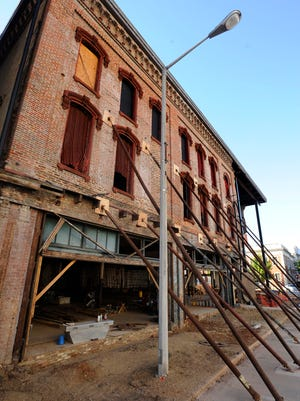 The Webber Building in downtown Montgomery, Ala. on Wednesday October 22, 2014. The building partially collapsed during renovations in June.