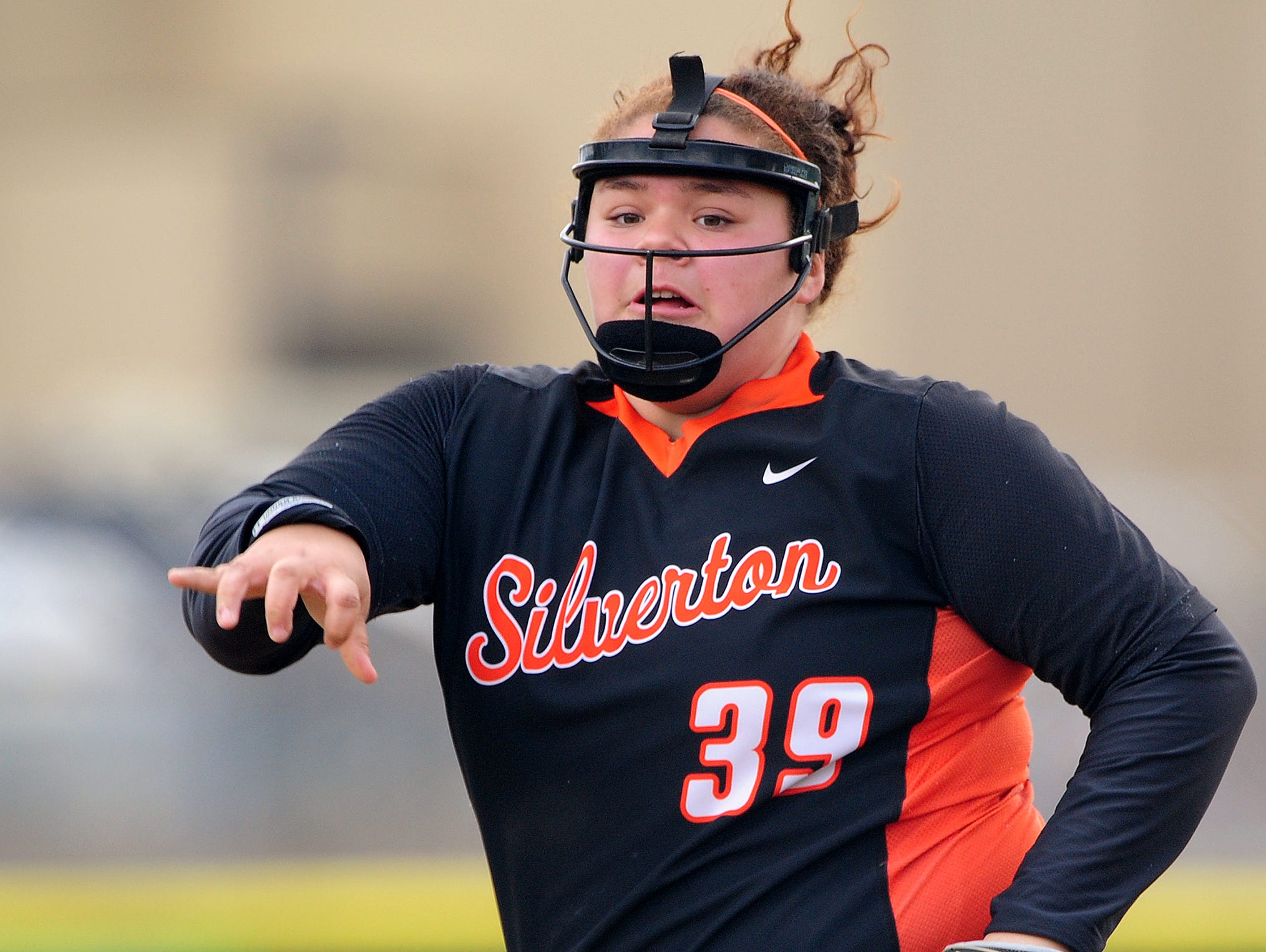 Silverton pitcher Alex Molloy was selected as the athlete of the week