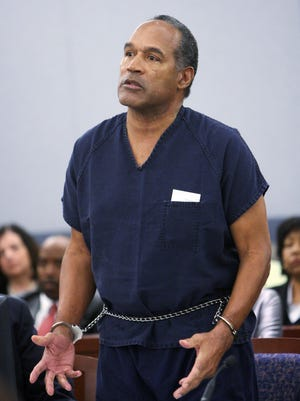 O.J. Simpson, shown in 2008, has been in Lovelock Correctional Center since 2008.