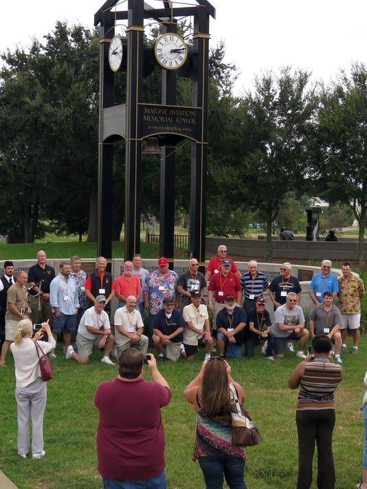Pensacola veterans park plans memorial for Marines killed in