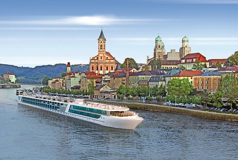 New River Cruise Line To Debut In Europe - Emerald river cruise ship