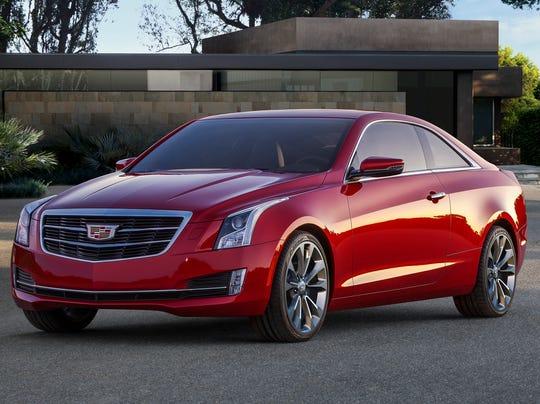 2015-Cadillac-ATS-coupe-Infiniti exec named new Cadillac chief