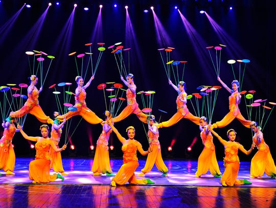 The Shanghai Acrobats will perform October 27 at The