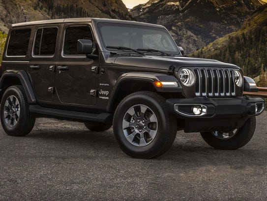 FCA released photos of the all-new 2018 Jeep Wrangler
