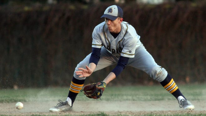 Logan Grunenwald is one of nine seniors on a Wausau West team which captured the Wisconsin Valley Conference title this spring and has hopes for a deep postseason run