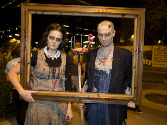 Zombie Walk Phoenix---  10/25/14- Zombies take to the