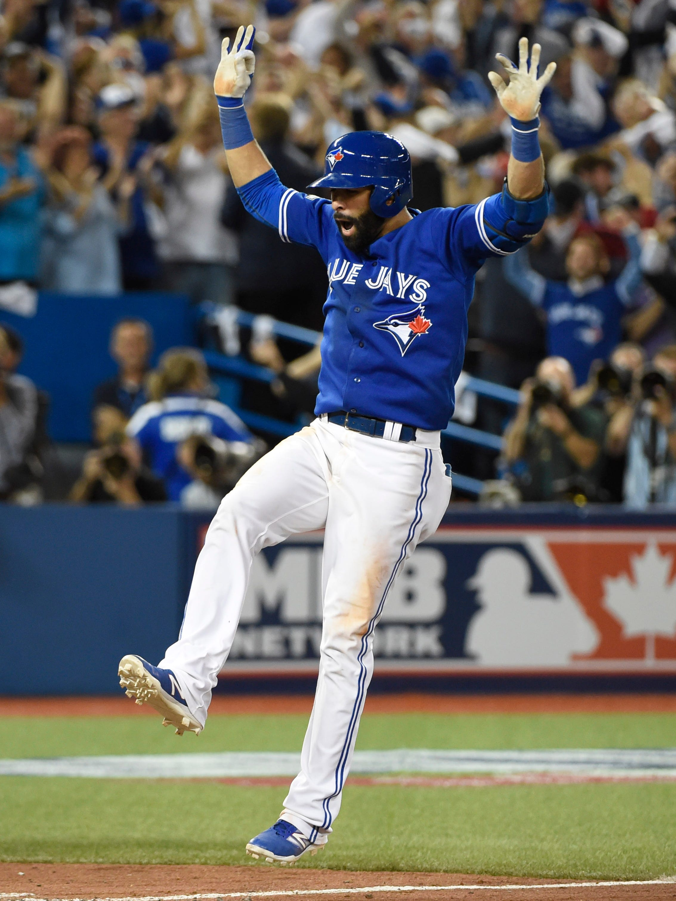 2015 Bautista/'s Bat Flip Greatest Blue Jays Plays Drawstring Bag