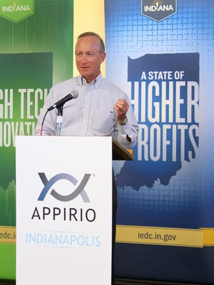 Former Gov. Mitch Daniels announced in 2012 that cloud services consultancy Appirio would open an Indianapolis office.