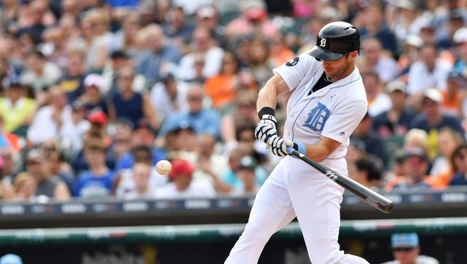 Tigers' Andrew Romine has already set career highs in home runs (four), doubles (12) and RBIs (20) this season.