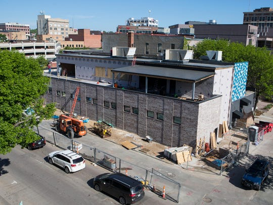 The former Copper Lounge bar is being converted into