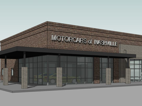 MotorCars of Nashville has taken steps to build a new