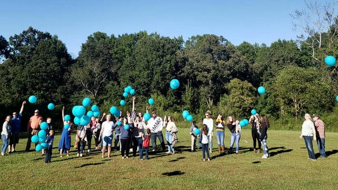 Family and friends gathered on Sept. 20 to remember Canaan Bradley. The child died after sustaining injuries in a wreck one year ago.