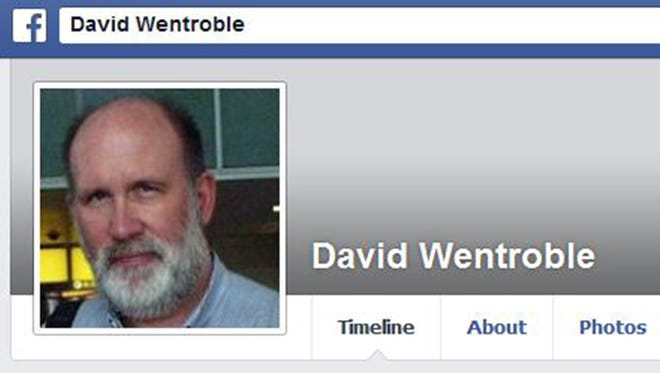 A photo of the Rev. David Wentroble from his Facebook page. Wentroble had just bought coffee and began filling his car with gas when the explosion occurred Friday, Dec. 20, 2013, in Danbury, Conn.