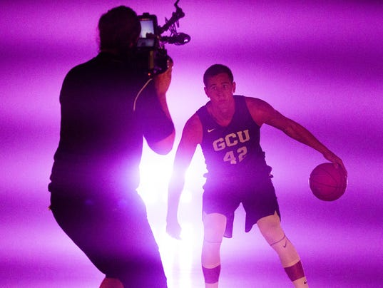 GCU basketball media day