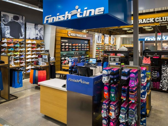 19b3e6d89609a Finish Line is set to open with athletic shoes and accessories for adults  and children this summer at Arrowhead Towne Center. (Photo  Finish Line)