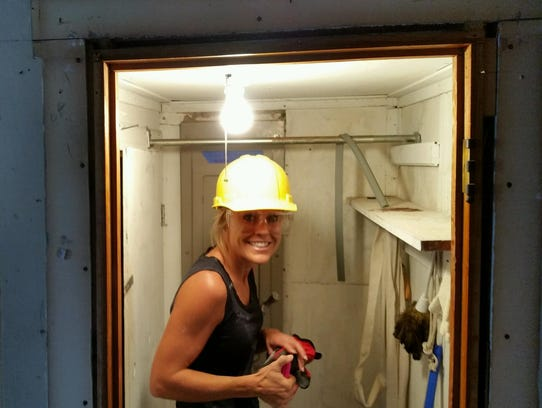 Bethany Beach builder Marnie Oursler is pictured on