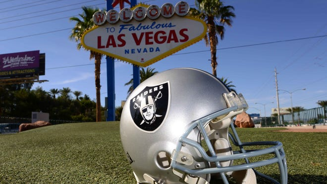 NFL policy prohibits team owners from having a stake in casinos, but two casino owners are on the governing board of the landlord that will own the Las Vegas stadium where the Raiders are scheduled to play in 2020.