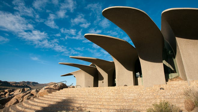 One of only a handful of examples of organic architecture in the desert, the 10-acre Doolittle estate is a rare study, offering a unique peek into the creative partnership between its owners and the architect, Kendrick Bangs Kellogg. Priced at $3 million in an isolated nook of the high desert, it'??s now on the market for the first time.