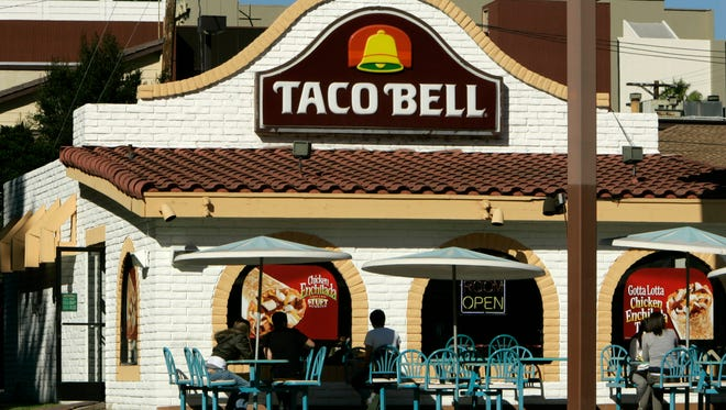 File photo of a Taco Bell. A restaurant in Lincoln Heights was robbed Sunday night.