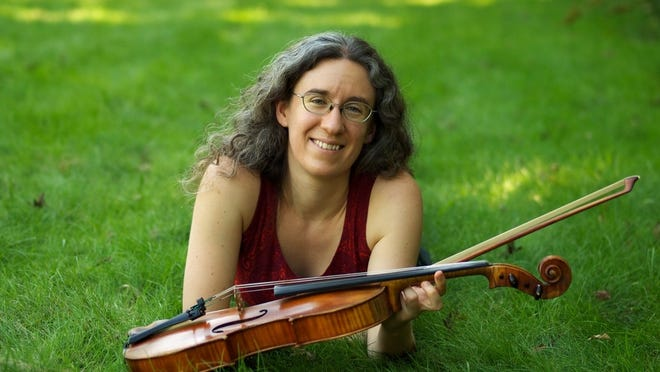 Roslindale resident Sarah Darling is a top violinist and violist.