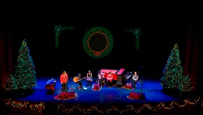 """Cherish the Ladies will bring their holiday show, """"A Celtic Christmas,"""" to Tarrytown Music Hall Dec. 20."""