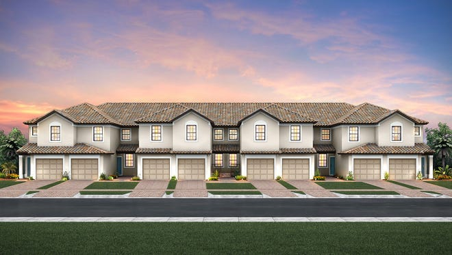 Del Webb Naples has introduced four new carriage home designs priced starting in the $180s in Ave Maria.