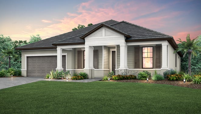 The Dockside is one of two new Pulte Homes' models at Orange Blossom Naples.