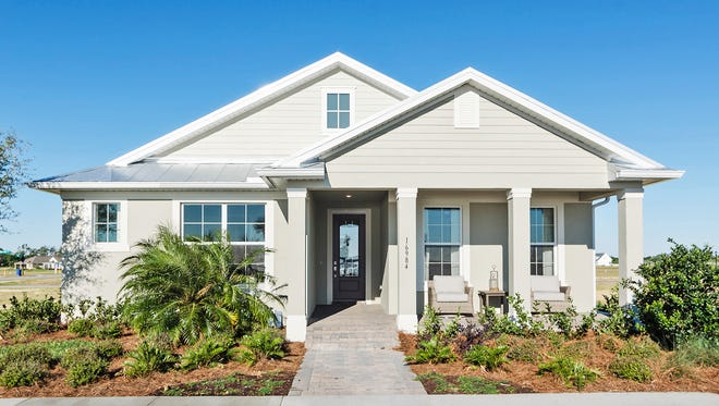 Pulte Homes' Arbordale model is now open In Babcock Ranch.