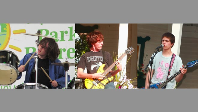 Wolfram is one of three bands that will perform Sunday at Terrace Park.