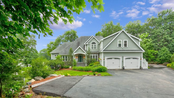 This 4,258-square-foot lakefront house at 88 Old Faith Road in Shrewsbury lists for $1.225 million.
