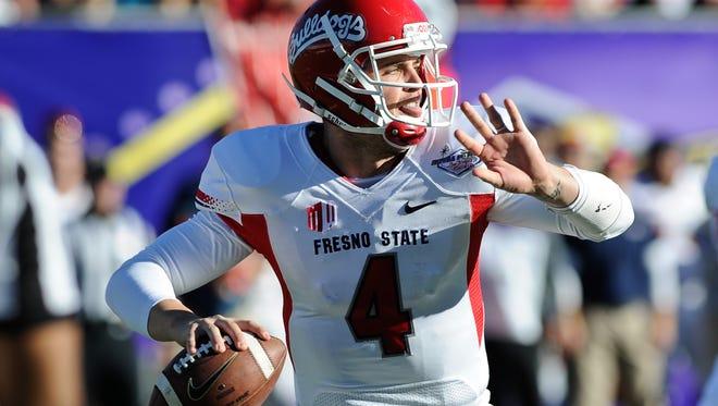Fresno State quarterback Derek Carr