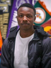 Robert Nishimwe, a junior at Central Academy in Des Moines, is a refugee student who immigrated from Tanzania with his parents when he was a young boy.