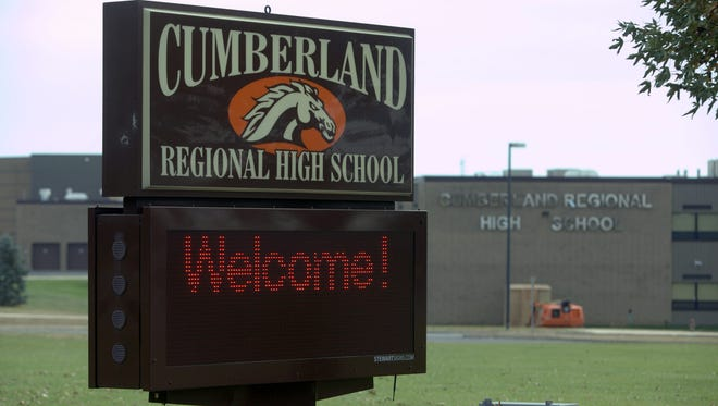 Cumberland Regional High School.