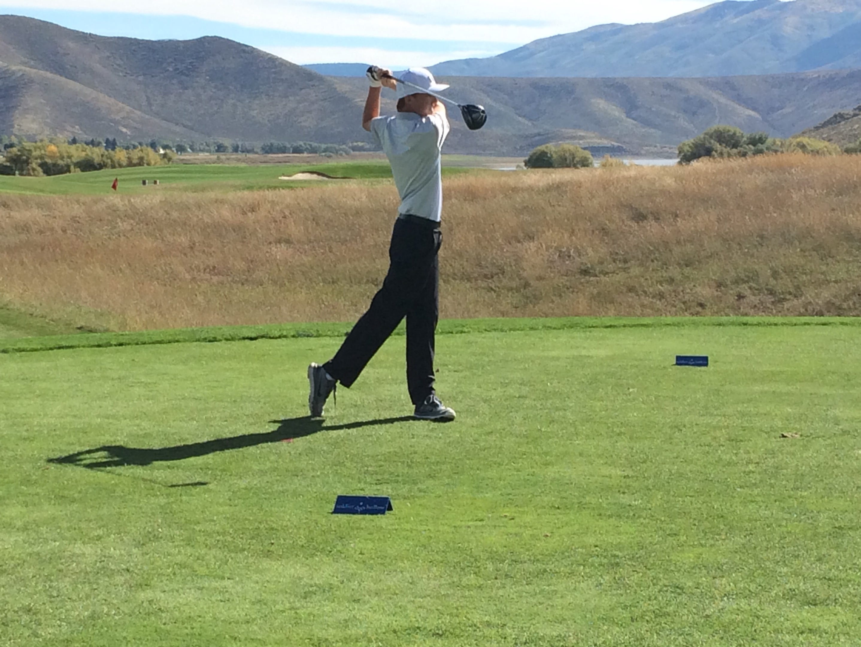 The second and final day of the 3A state tournament took place at Soldier Hollow on Wednesday. Pine View's Noah Schone finished third overall after shooting a two-day score of 137.