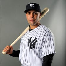 TAMPA, FL - FEBRUARY 22:  Carlos Beltran #36 of the New York Yankees poses for a portrait during New York Yankees Photo Day on February 22, 2014 at George M. Steinbrenner Field in Tampa, Florida.  (Photo by Elsa/Getty Images)