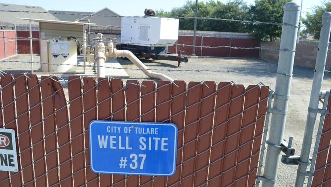 Tulare's Well 37 contained higher levels than allowed of 1-2-3,TCP levels.