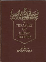 Within the covers, of the cookbook Price and his wife