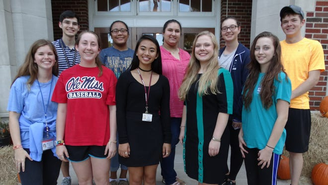 Interact Club at LSMSA hosts ACT workshop for local students