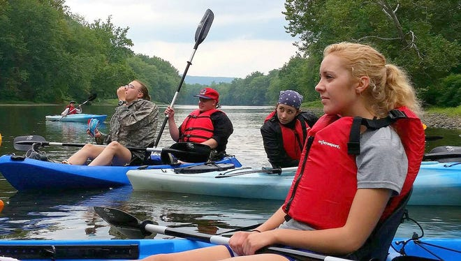 Paddling enthusiasts can take a guided trip down the Chemung River from Elmira to Wellsburg this weekend.