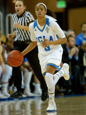 UCLA guard Jordin Canada was Pac-12 Freshman of the Year in 2014-15. The Bruins are at ASU on Friday.