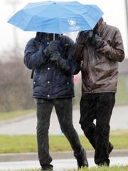 Get out the umbrella and put away the snow shovel. Rain is on the way for Saturday.