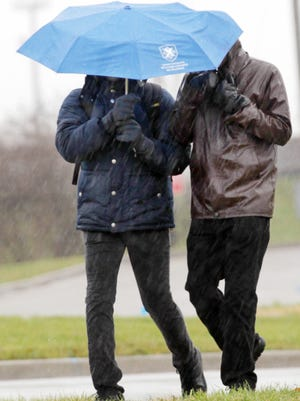 Get out the umbrella. Heavy rain is expected tomorrow and next week.