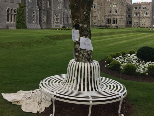 The Ashford Castle in Ireland is one of the most exclusive