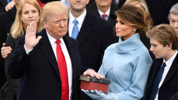 Some 30.6 million people watched Donald Trump's Inauguration